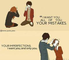Anime quotes animequotes love