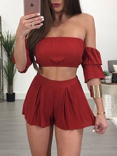 Casual summer outfits ideas for Fashion outfits Teen Fashion Outfits, Mode Outfits, Girly Outfits, Fashion Fashion, Fashion Spring, Short Outfits, Fashion Dresses, Womens Fashion, Fashion Trends