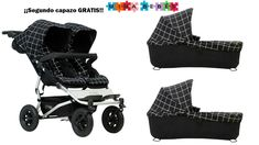 Duet is the ultimate ride for siblings or twins, offering innovation like no other, comfortably taking you from the mountains to the city streets. Offering versatility and parent facing longevity all in one key accessory, carrycot plus de Mountain Buggy Duet, Thing 1, All In One, Baby Strollers, Twins, Children, Fraternal Twins, Baby Buggy, Second Best