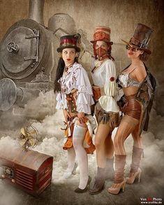 Steampunk Bandit Queen III by von-sel on DeviantArt Steampunk Cosplay, Steampunk Costume Women, Steampunk Clothing, Renaissance Clothing, Steampunk Couture, Steampunk Kunst, Gothic Steampunk, Steampunk Airship, Victorian Gothic