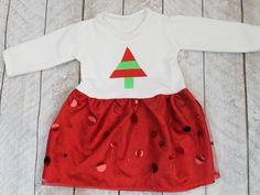 Christmas Baby Dress Design | FaveCrafts.com