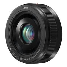 Panasonic 20mm F/1.7 lens. This is going to my 20mm walk around. 40mm equivalent in M43.