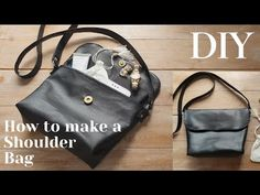 Soft Leather, Leather Bag, Backpack Tutorial, Pouch Pattern, Simple Bags, Longchamp, Leather Shoulder Bag, Diy And Crafts, Lunch Box
