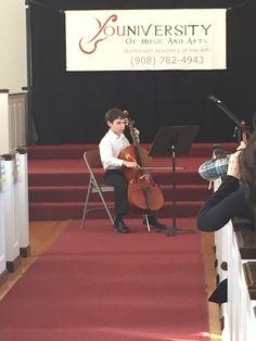 Cello student from HAA's winter recital!