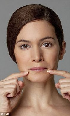 The ultimate facercise: Forget Botox... in just six days you can get a firmer face naturally | Mail Online