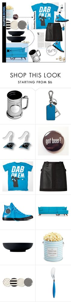 """Rah."" by s-elle ❤ liked on Polyvore featuring interior, interiors, interior design, home, home decor, interior decorating, Coach, Alexander Wang, Converse and Joybird Furniture"