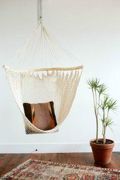Handmade Hammock Chair | The Bee & The Fox on Etsy