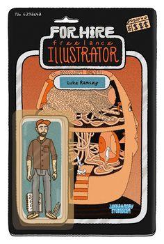 Illustrator Luke Ramsey