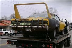 Rescued 1970 Superbird. Hopefully this one will be restored.