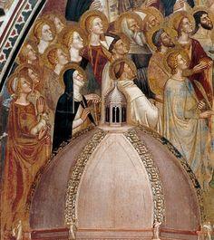 Andrea di Bonaiuto - Via della Salvezza, det. - affresco - cappella Spagnolo - Chiesa S. Maria Novella, Firenze