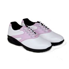 Kids Golf is to help kids have fun learning the lifelong game of golf and to encourage family interaction that builds lasting memories. Kids Golf Shoes, Striped Shoes, Girls Golf, New Kids, Pink White, Sneakers, Tennis, Slippers, Sneaker