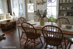 cozy beautiful dining and family rooms..FARMHOUSE 5540