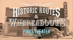 The Pines Theater in Sevierville, Tennessee was where Dolly Parton first performed for a paying audience. East Tennessee, Sevierville Tennessee, Pigeon Forge, Main Street, Pine, Tours, Dolly Parton, Country Music, Theater