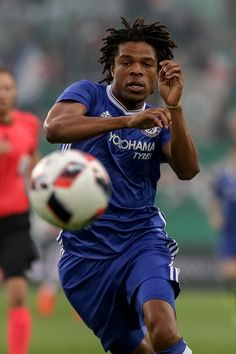 Loic Remy of Chelsea in action during an friendly match between SK Rapid Vienna and Chelsea F.C. at Allianz Stadion on July 16, 2016 in Vienna, Austria.