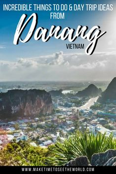 Plan your time in the super cute & laid back town of #DaNang (#Vietnam) with this handy travel guide including the Best Things To Do In Da Nang & Da Nang Day Trip Ideas plus where to stay, how to get around and the best time to visit.