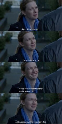 The Killing. S04E06 EDEN! Linden and Holder. This MOMENT!  THE ABSOLUTE BEST - #TheKilling