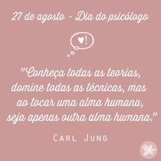 No dia 27 de agosto é comemorado no Brasil o Dia do Psicólogo. Nesta mesma data, no ano de 1962, a profissão foi regulamentada através da Lei 4.119/62. #denoivaamae #diadopsicologo #psicologo #psicologia