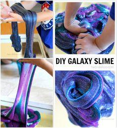DIY GalaXy Slime Recipes for Endless Kids Fun