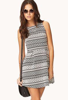 Adventurer A-Line Dress | FOREVER21 - 2000073009