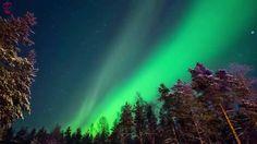 ❤ Aurora Boreal ♫ Melhor áudio para relaxamento!