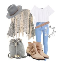 A fashion look from June 2017 featuring MANGO t-shirts, Ulla Johnson jackets and Chloé ankle booties. Browse and shop related looks.