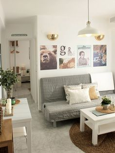 Un apartamento malagueño low cost
