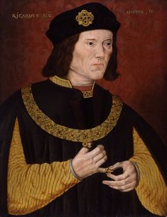 King Richard III by Unknown artist oil on panel, late 16th century On display in Room 4 at Montacute House