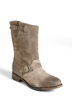 Free shipping and returns on Vintage Shoe Company 'Veronica' Boot at Nordstrom.com. Buckles detail the vamp and shaft of a vintage-inspired boot beautifully crafted from soft, burnished leather.
