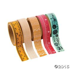 Washi Tape - Sewing Set - Variety Pack of 5