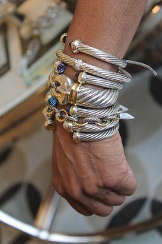 David Yurman bracelets  ♦F&I♦