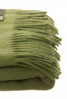Home Collection - Manta De Llama Twin Verde