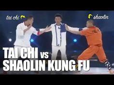 Tai Chi vs Shaolin Kung Fu - YouTube