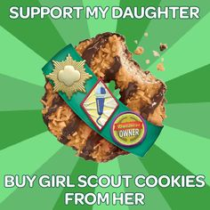 BUY GIRL SCOUT COOKIES! On January 17, 2013 you can let me know if you would like any Girl Scout cookies.  My daughters goal is 200 boxes!