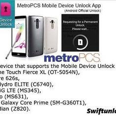 Get you MetroPCS from swiftunlock. Join our wholesale portal and get it for 19.99. even cheaper in you have quantity. Info@swiftunlock.com http://ift.tt/2ecg65o Join Swift Unlock