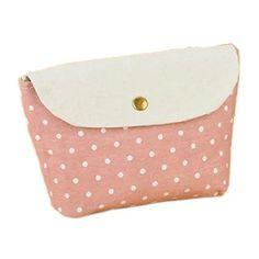 EYX Formula Multifunction Lovely Polka Dot Makeup bag Coin purse,Cosmetic bag Storage bag Handbag for arranging and storing ** Visit the image link more details.