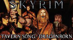 Skyrim: Tavern song - DRAGONBORN - Jeff Winner