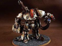 40k - Mechanicum Thanatar-Calix Siege Automata by Amanda Zhu
