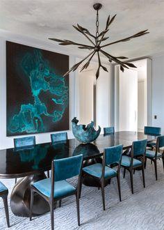 Modern Living Room Decor Ideas | Modern Interior Design | Contemporary Decor | Contemporary interior design | For more inspirational ideas take a look at: www.bocadolobo.com