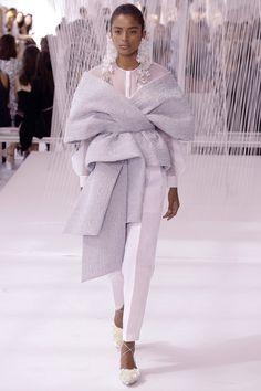 Alecia Morais at Delpozo Spring 2017.  New York Fashion Week