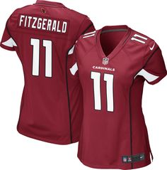 Nike Women s Home Game Jersey Arizona Larry Fitzgerald  11 06f809a10