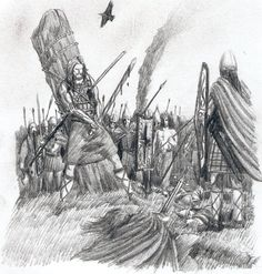Maebe conspires with Lugaid son of Cú Roy, Erc, son of Cairbre Nia Fer, and all the children of others that Cuchulainn killed, to take to the grave. The Death Of Cu Chulainn Celtic Heroes, Celtic Warriors, Irish Celtic, Celtic Art, Irish Mythology, Irish Warrior, Celtic Culture, Picts, Dark Ages
