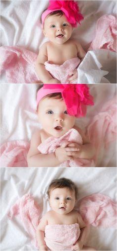 3 Months Baby Portraits. Erin Kata Photography.