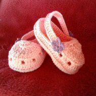 Baby Croc de crochê