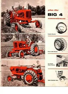ALLIS-CHALMERS tractors were tough as nails.made alot of farmers money around here. Antique Tractors, Vintage Tractors, Old Tractors, John Deere Tractors, Vintage Farm, Antique Cars, Allis Chalmers Tractors, Industrial Machinery, Classic Tractor