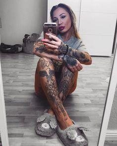 #tattoos #selfie