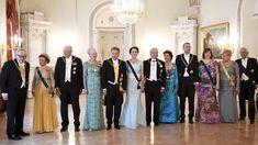 Suomi 100 -juhalan vieraat linnassa.