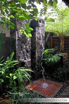 Летний душ для дачи - 45 фото потрясающих идей | #душ Не пропустите