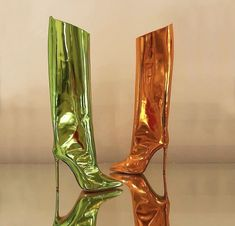 On Shoes, Shoe Boots, Dress Shoes, Runway Shoes, Super High Heels, Sneaker Heels, Sneakers, Alexandre Vauthier, Long Boots