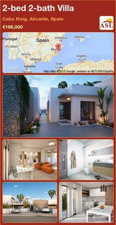 2-bed 2-bath Villa in Cabo Roig, Alicante, Spain ►€196,000 #PropertyForSaleInSpain