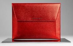 Burberry Metallic London Leather Digital Case